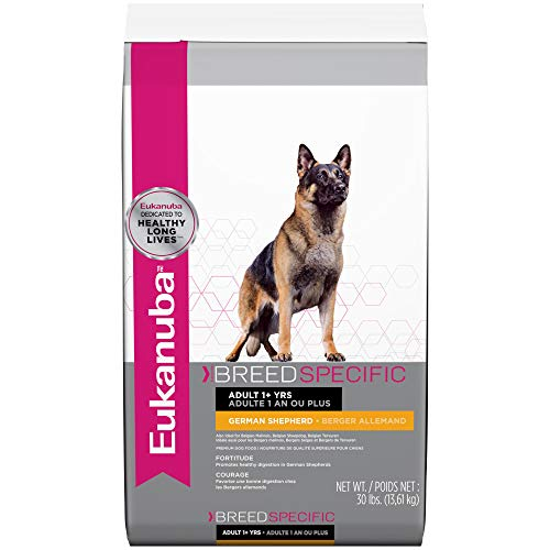 Eukanuba Breed Specific Adult German Shepherd Dog Food 30 Pounds Belgian Malinois German Shepherd