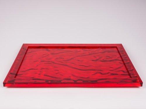 Kartell Dune 1200VR Tray Red - Trays Kartell