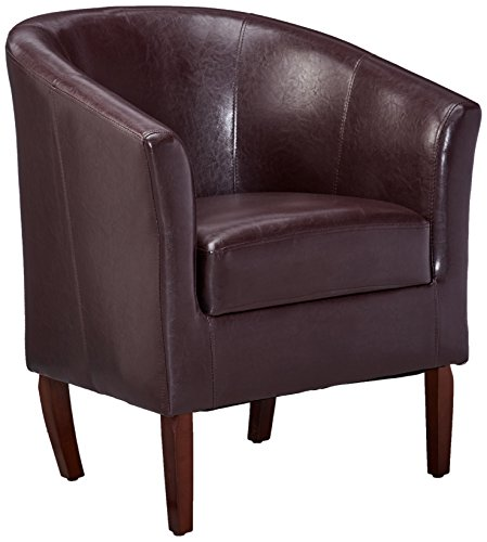 - Linon Simon Club Chair, Blackberry