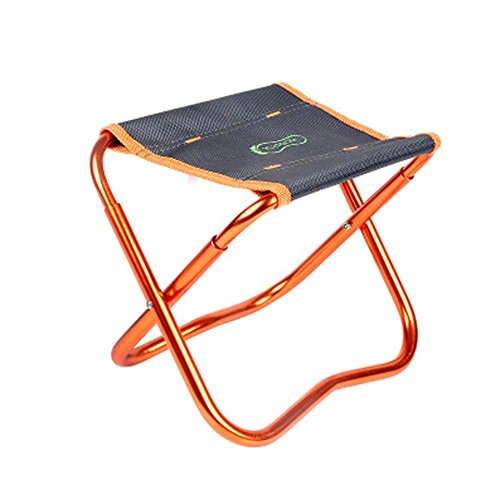 HUPLUE Portable small Folding Camping Chair Fishing Stool Outdoor Camping Furniture Folding Stool by HUPLUE