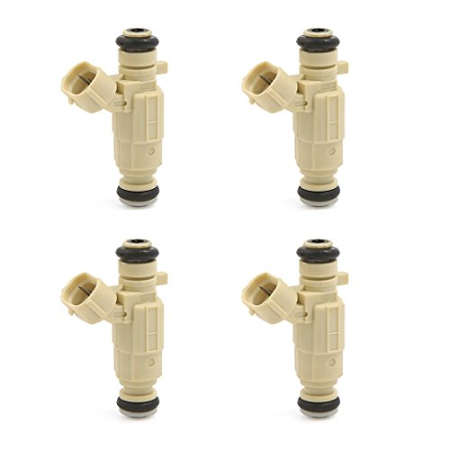 uxcell 4pcs Flow Matched Fuel Injector 35310-23600 for Hyundai Tucson 2.0L 2.7L