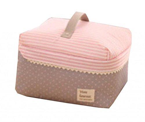La vogue Rosa Organizer Kulturbeutel Toiletbag Kosmetiktäschchen Schminktasche Kulturtaschen