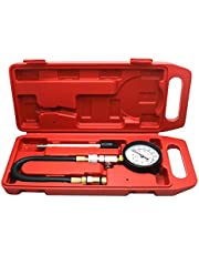 Cylinder Compression Tester Kit Petrol Engine Cylinder Test Set 14 & 18mm