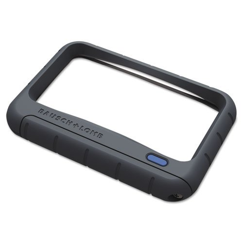 Bausch & Lomb 628006 Handheld LED Magnifier, Rectangular, 4