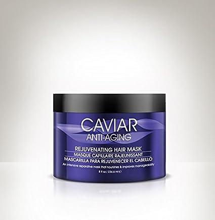 Pelo farmacia Caviar rejuvenecedor Mascarilla de pelo con 8 oz./225g (Pack de