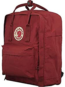 Fjallraven Kanken Backpack, Deep Red