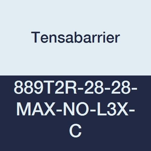 Tensabarrier 889T2R-28-28-MAX-NO-L3X-C Post, 2
