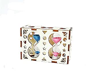 Hourglass Decoration Sandglass Timer Birthday Gift