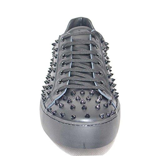 Sneaker Borchie Vera In Uomo Stringata Moma Della Made Pelle Gamma Top Milano Linea 26 U Italy AArwx