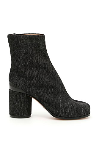 S58WU0159S30636900 Grey Maison Black Boots Ankle Margiela Cotton Women's x8Eq1rtUE