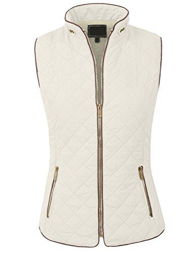 Quilted Side Zip Vest - 1