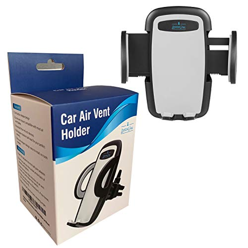 ArdaVan Anti Slip Universal 360 Degree Rotation Car Air Vent Mobile Phone Holder Car Mount for iPhone 4 4S 5 5S 6 6S 7 7 Plus XS XS Max X 8 Samsung Galaxy S4 S5 S6 LG Sony Nokia and Other Cell Phones (Car Vent Phone Holder Samsung S5)