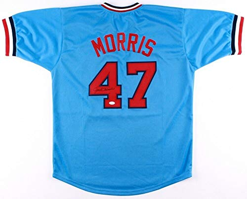 Jack Morris Autographed Signed Memorabilia Minnesota Twins Jersey - JSA - Jerseys Autographed Twins Minnesota