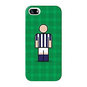 West Bromwich Full Wrap High Quality Case for iPhone 5 / 5s by Blunt Football + FREE Crystal Clear Screen Protector