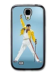 AMAF ? Accessories Freddie Mercury Queen Yellow Jacket case for Samsung Galaxy S4
