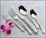 Oneida Dover 46pc Service for 8 Plus Serving Pieces, Oneida Stainless Steel Flatware Set…