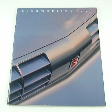 1991 91 Oldsmobile Cutlass Cruiser (1991 91 OLDSMOBILE BROCHURE Cutlass 88 Toronado 98)