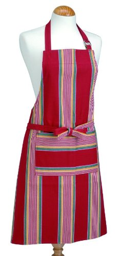 Now Designs Striped Apron (Provence Tomato Striped Apron 2500 998)