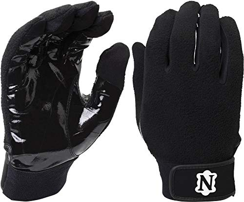 Adams USA Neumann Touchscreen Coach/Referee Gloves with Synthetic Palm, X-Large