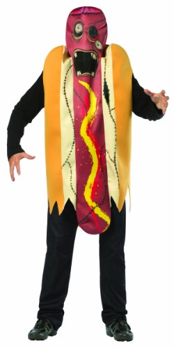 Rasta Imposta Plus-Size Zombie Hot Dog
