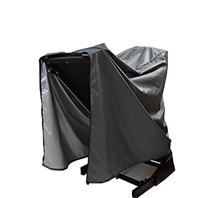 Treadmill Cover,Folding Running Machine Protective Cover Dustproof Waterproof Cover Heavy Duty and Water-Resistant Fitness Equipment Fabric Ideal for Indoor Or Outdoor use?Gray?