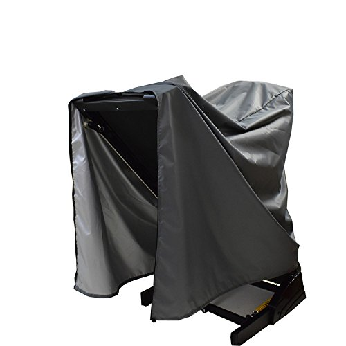 Treadmill Cover,Folding Running Machine Protective Cover Dustproof Waterproof Cover Heavy Duty and Water-Resistant Fitness Equipment Fabric Ideal For Indoor Or Outdoor use(gray)