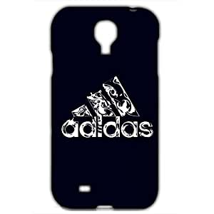Best Design Adidas A Logo Phone Case Cover for Samsung Galaxy S4 3D Hard cover Case_Black