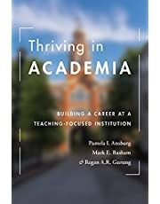 Thriving in Academia: Building a Career at a Teaching-Focused Institution