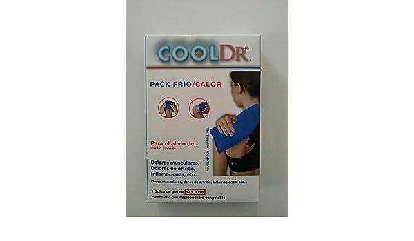 CoolDr pack frío calor 1 bolsa de gel de 12x8 cm: Amazon.es ...