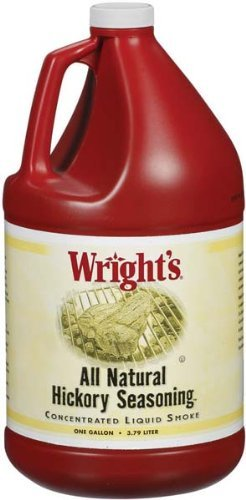 Wright's All Natural Hickory Seasoning 1 Gallon (2 Pack)