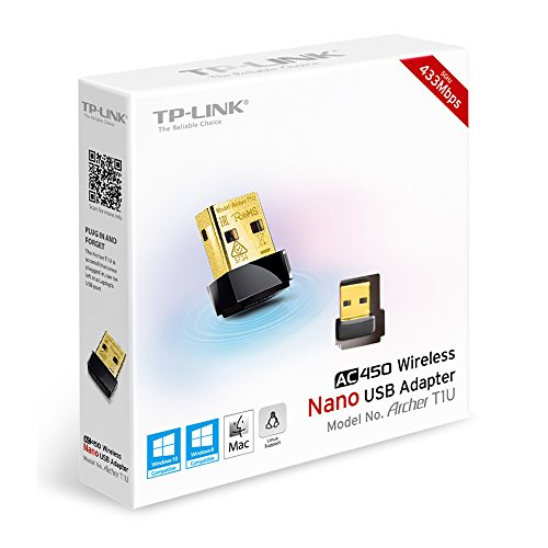 TP-Link Archer T1U AC450 Nano USB Wireless WiFi Network Adapter by TP-Link (Image #3)'