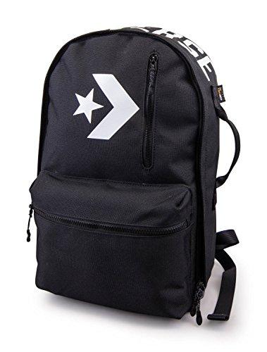 Star Bookbag Black Logo Converse All gqRz77
