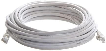 White W//Boot 25Ft Cat5E Enhanced Patch Cable