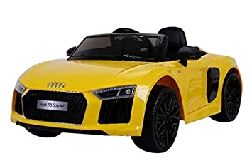 Buy Audi R8 Spyder Yellow Color Online At Low Prices In India
