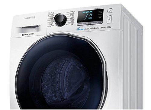 Samsung WD80J6400AW Independiente Carga frontal A Blanco lavadora ...