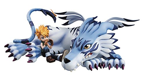 - Megahouse Digimon Adventure: Garurumon & Yamato GEM PVC Figure
