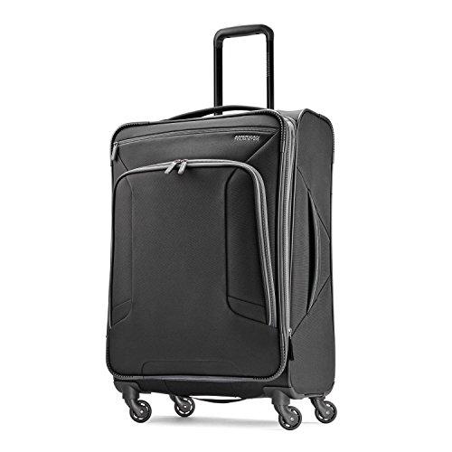 American Tourister 4 Kix Spinner 25, Black/Grey