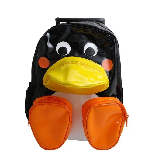Sassafras Pull-Along Penguin Bag