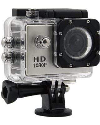 Coolmobiz 1080p Full HD 12MP Sport Action Camera for Android, iOS, Smartphone  Black  Action Cameras