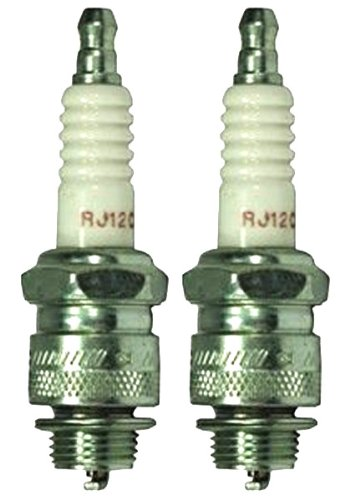 Champion RJ12C-2pk Copper Plus Small Engine Spark Plug Stock # 592 (2 Pack)