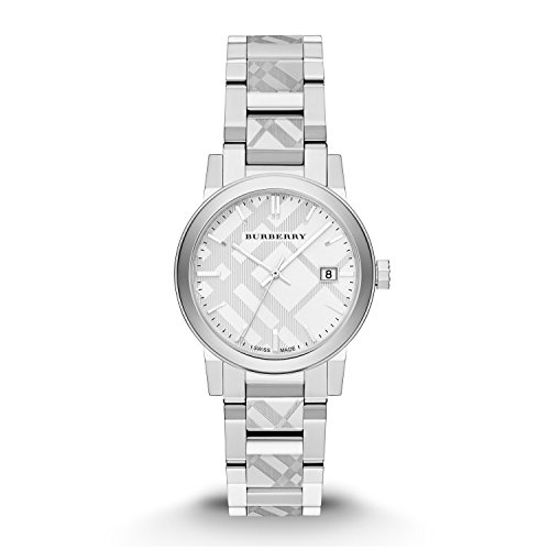 Burberry Silver Dial Stainless Steel Quartz Ladies Watch BU9144