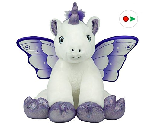 Tg-one Record Your Own Plush 16 inch Crystal The Unicorn - Ready 2 Love in a Few Easy Steps from Tg-one