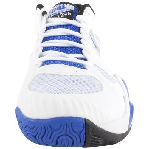 888098149623 - New Balance Men's MC1296 Stability Tennis Running Shoe,White/Blue,8 2E US carousel main 2