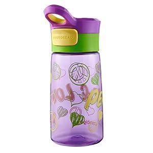 Contigo Autoseal Kids Gracie Water Bottle, 14-Ounce, Amethyst Graphic