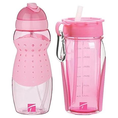 Trudeau Breast Cancer Awareness Hydration Bottle Set