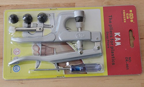how to use plastic snaps hand held pliers tool set