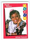 Family Matters trading card 1991 Impel Laffs #33 Jaimee Foxworth Judy Winslow