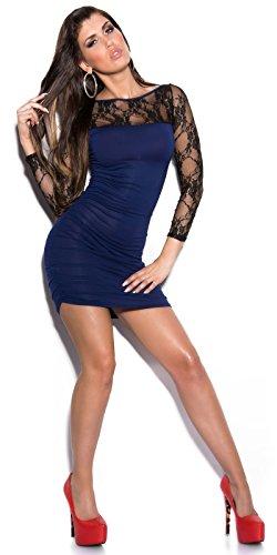 In-Stylefashion - Vestido - para mujer Azul