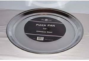 Stainless Steel Pizza Pan - 16 Inch Diameter
