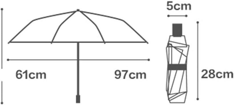 WN Sun Umbrella Sun Protection UV Protection Female Folding Umbrella Dual-use Ultralight Umbrella Against Wind Color : Red